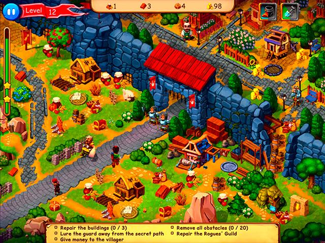 Capture D'écran Du Jeu 1 Robin Hood: Country Heroes Édition Collector