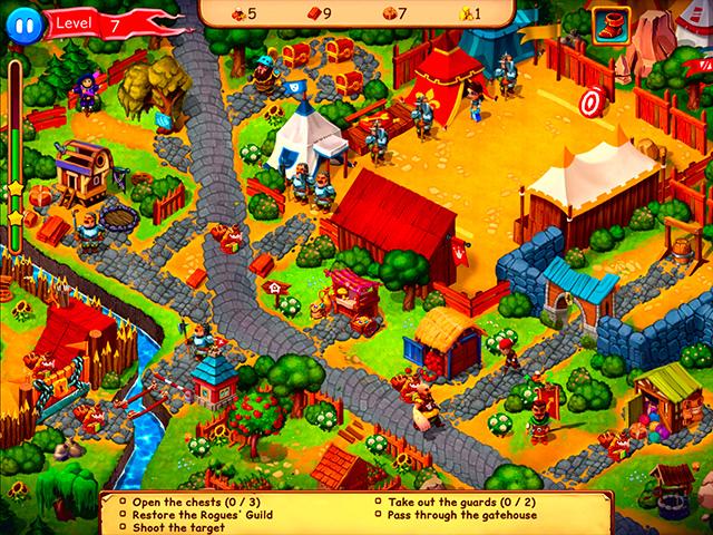 Capture D'écran Du Jeu 3 Robin Hood: Country Heroes Édition Collector