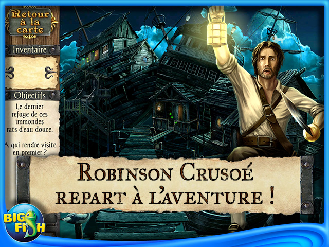 Capture d'écran de Robinson Crusoé et les Pirates Maudits