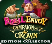 Feature Jeu D'écran Royal Envoy: Campaign for the Crown Edition Collector