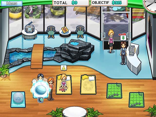 Capture D'écran Du Jeu 2 Sally's Studio