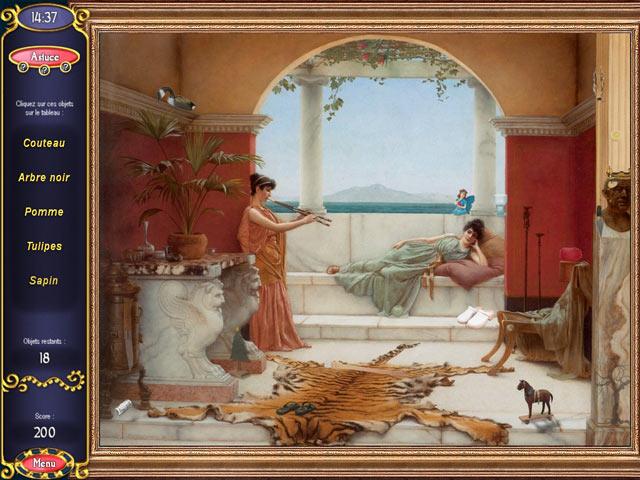 Capture D'écran Du Jeu 3 Secrets of Great Art