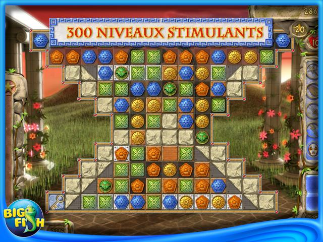 Capture d'écran de Secrets of Olympus