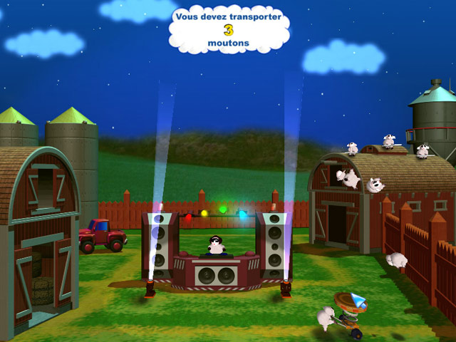 Capture D'écran Du Jeu 3 Sheep's Quest