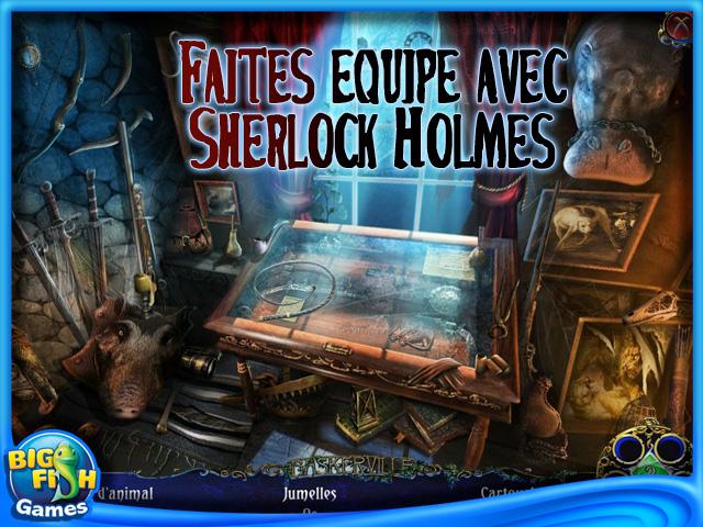 Capture d'écran de Sherlock Holmes: Le Chien des Baskerville Edition Collector