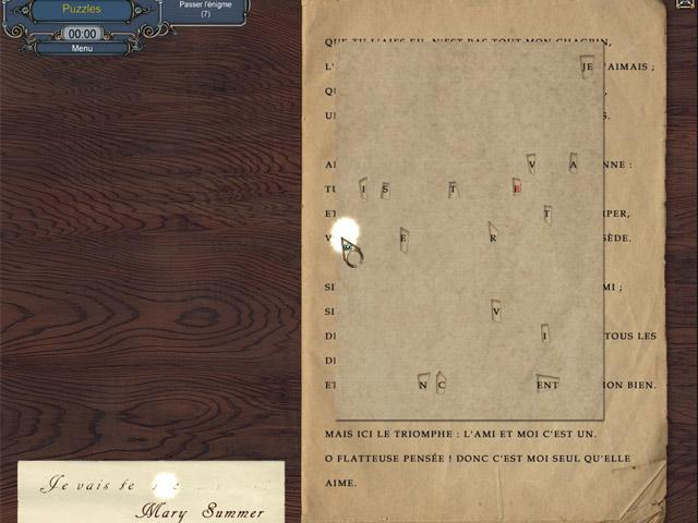 Capture D'écran Du Jeu 1 Sherlock Holmes: Le Mystère du Tapis Persan