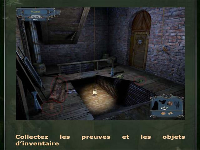 Capture D'écran Du Jeu 1 Sherlock Holmes: Le Mystère du Tapis Persan - Guide de Stratégie