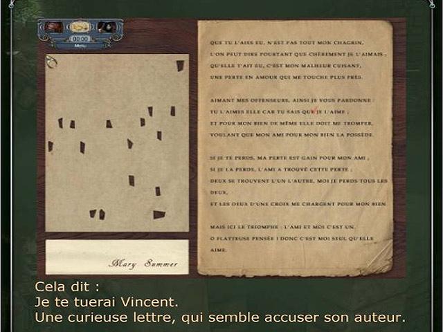 Capture D'écran Du Jeu 3 Sherlock Holmes: Le Mystère du Tapis Persan - Guide de Stratégie