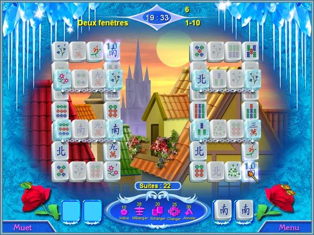 Capture D'écran Du Jeu 2 Snow Queen Mahjong