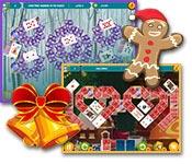 Solitaire de Noël Associez deux cartes