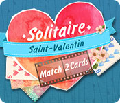 Solitaire Match 2 Cards Saint-Valentin