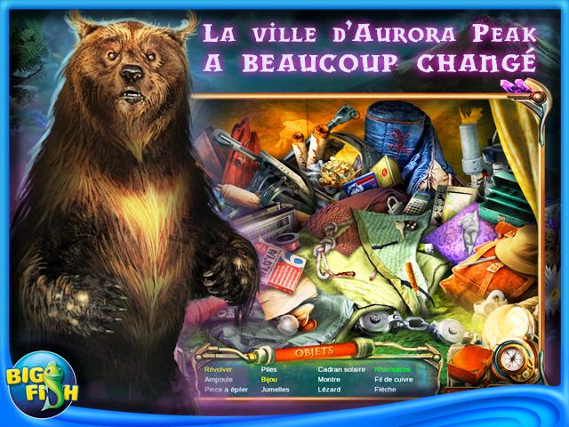 Capture d'écran de Strange Discoveries: Aurora Peak Edition Collector