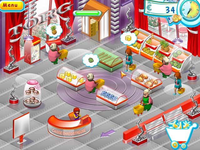 Capture D'écran Du Jeu 1 Supermarket Mania