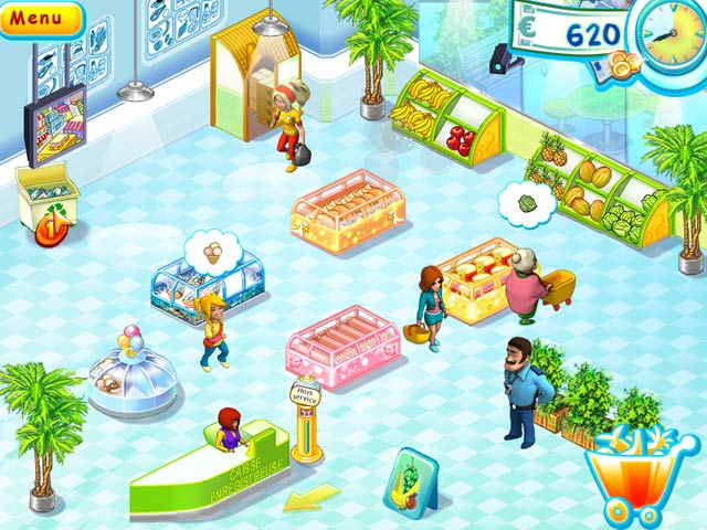 Capture D'écran Du Jeu 3 Supermarket Mania