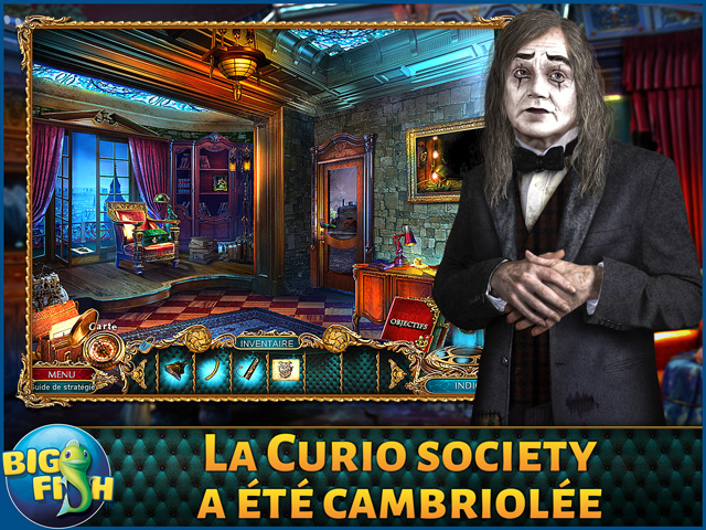 Capture d'écran de The Curio Society: L'Ordre Nouveau Édition Collector
