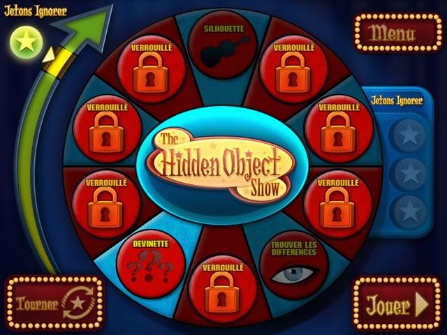Capture D'écran Du Jeu 2 The Hidden Object Show
