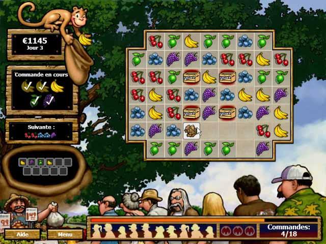 Capture D'écran Du Jeu 1 Tino's Fruit Stand