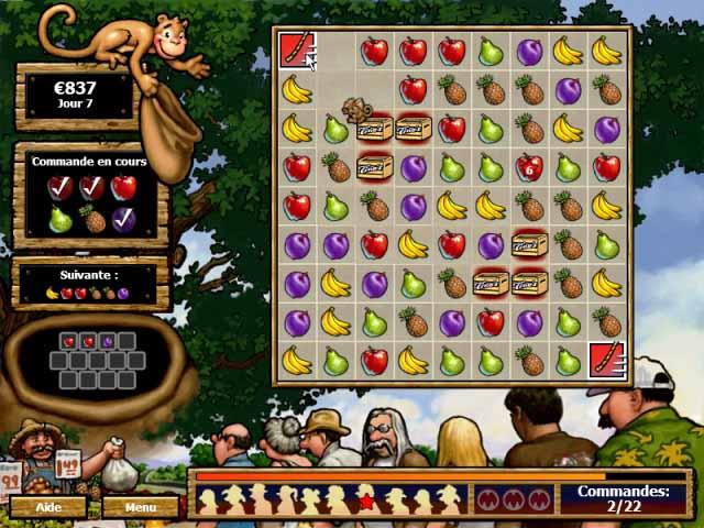 Capture D'écran Du Jeu 3 Tino's Fruit Stand