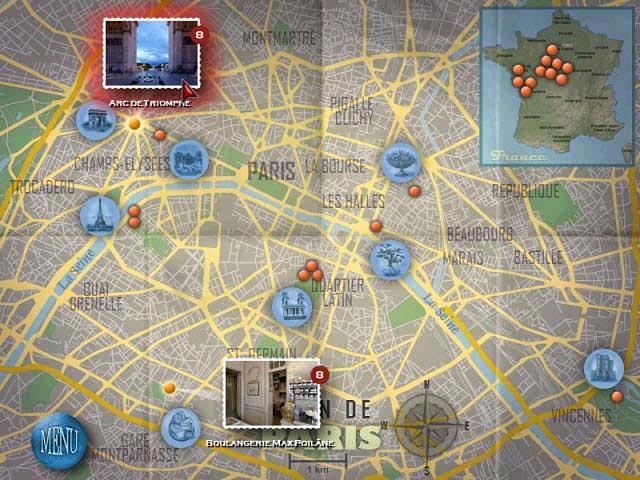 Capture D'écran Du Jeu 2 Travelogue 360: Paris