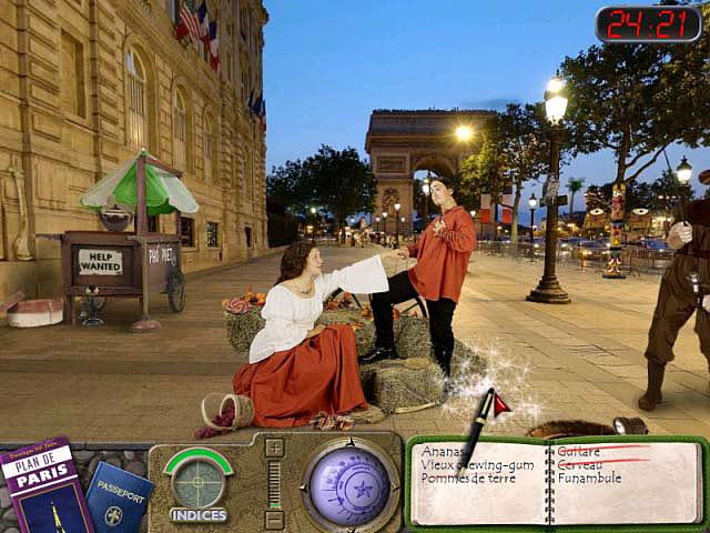 Capture D'écran Du Jeu 3 Travelogue 360: Paris