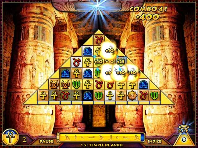 Capture D'écran Du Jeu 1 Treasure Pyramid