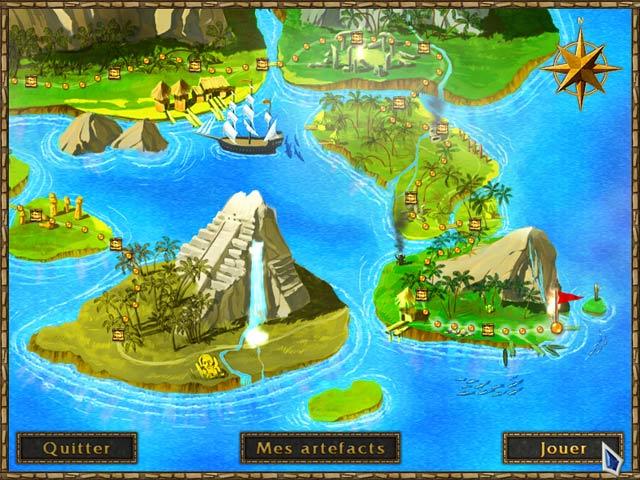 Capture D'écran Du Jeu 2 Treasures of the Ancient Cavern