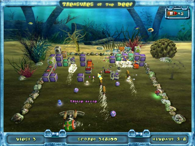 Capture D'écran Du Jeu 1 Treasures of the Deep
