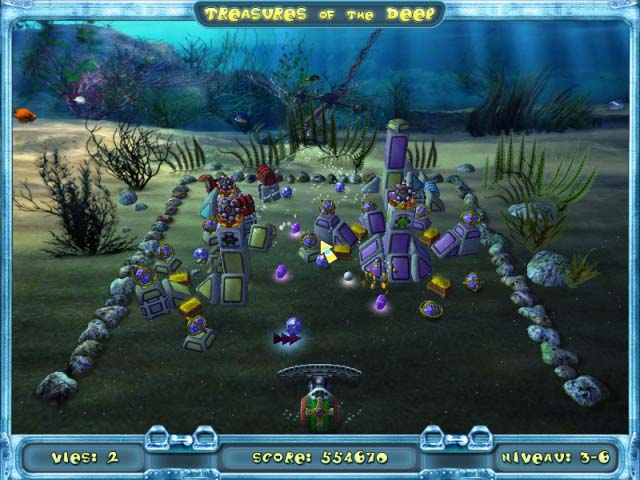 Capture D'écran Du Jeu 2 Treasures of the Deep