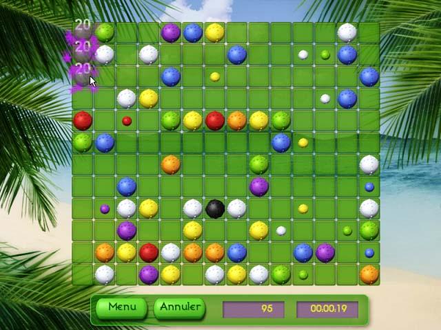 Capture D'écran Du Jeu 1 Tropical Puzzle
