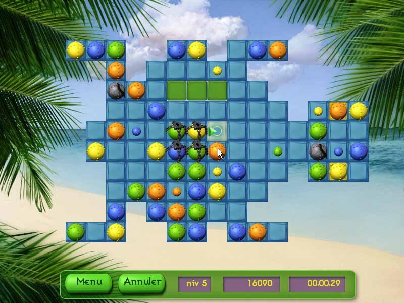 Capture D'écran Du Jeu 3 Tropical Puzzle