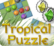 Feature Jeu D'écran Tropical Puzzle