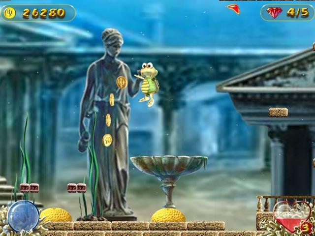 Capture D'écran Du Jeu 3 Turtle Odyssey