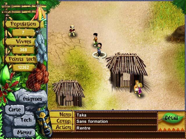 Capture D'écran Du Jeu 1 Virtual Villagers: A New Home