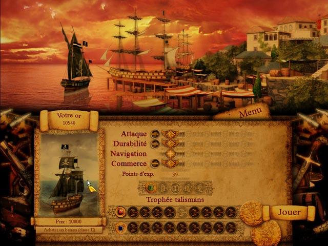Capture D'écran Du Jeu 2 Voyage en Mer