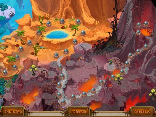 Screenshot Del Gioco 2 A Gnome's Home: La crociata per il cristallo