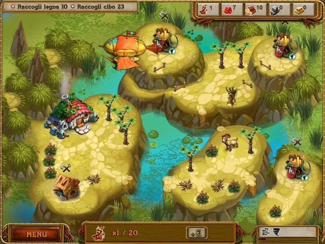 Screenshot Del Gioco 3 A Gnome's Home: La crociata per il cristallo