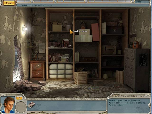 Screenshot Del Gioco 2 Alabama Smith in Escape from Pompeii