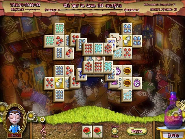 Screenshot Del Gioco 2 Alice's Magical Mahjong