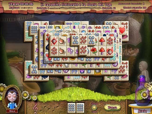 Screenshot Del Gioco 3 Alice's Magical Mahjong