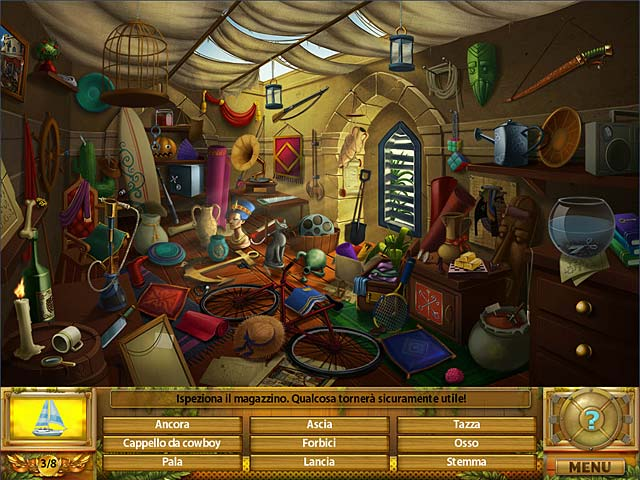 Screenshot Del Gioco 1 Atlantic Journey: Il fratello scomparso