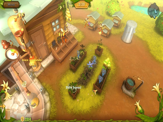 Screenshot Del Gioco 1 Bee Garden