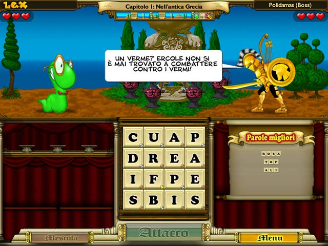 Screenshot Del Gioco 2 Bookworm Adventures