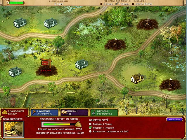 Screenshot Del Gioco 3 Build-a-Lot: The Elizabethan Era