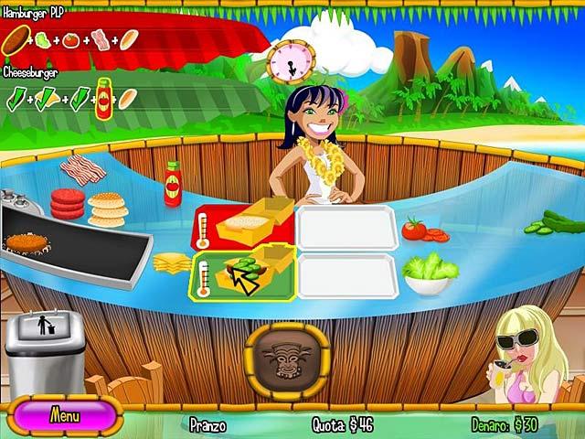 Screenshot Del Gioco 1 Burger Island 2: The Missing Ingredients