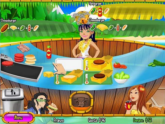 Screenshot Del Gioco 2 Burger Island 2: The Missing Ingredients