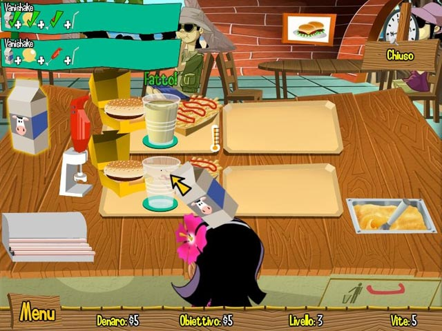 Screenshot Del Gioco 1 Burger Island