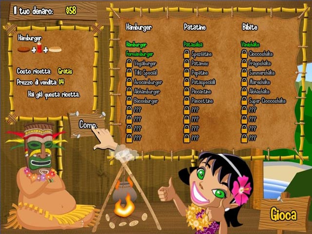 Screenshot Del Gioco 3 Burger Island