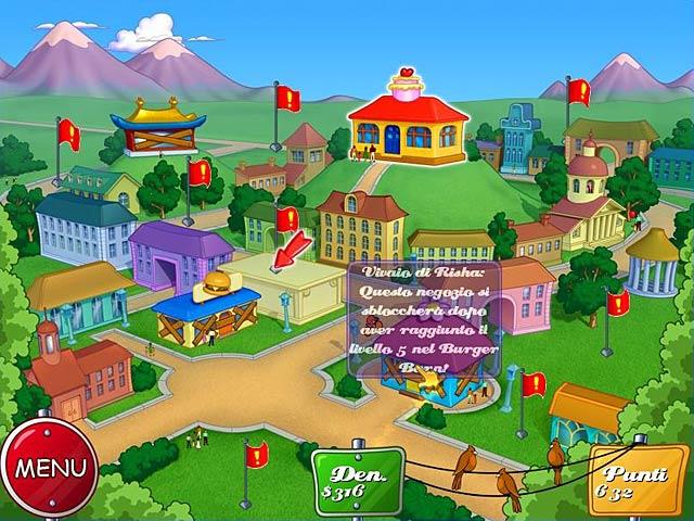 Screenshot Del Gioco 3 Cake Mania Main Street