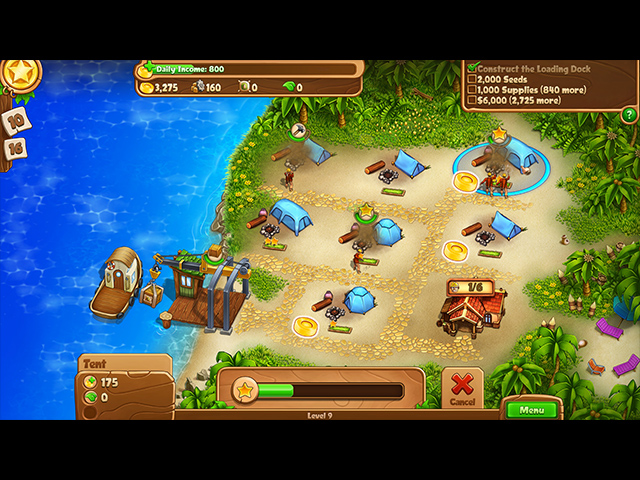 Screenshot Del Gioco 1 Campgrounds III Collector's Edition