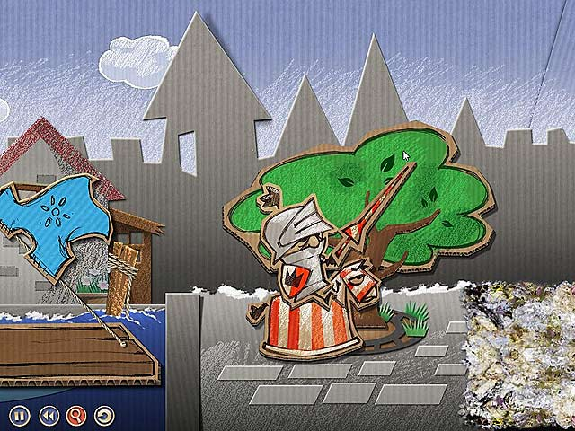 Screenshot Del Gioco 3 Cardboard Castle